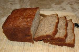 Slicing Banana Bread