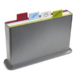 Joseph Joseph  Chopping Board Set, Silver,
