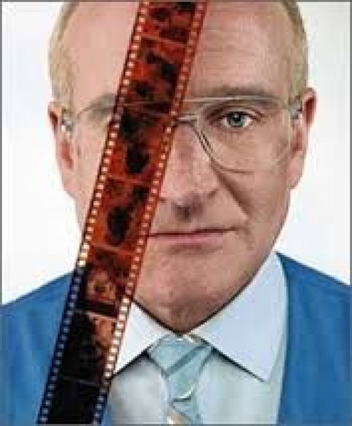 Robin Williams is the bad guy in the thriller movie called One Hour Photo.