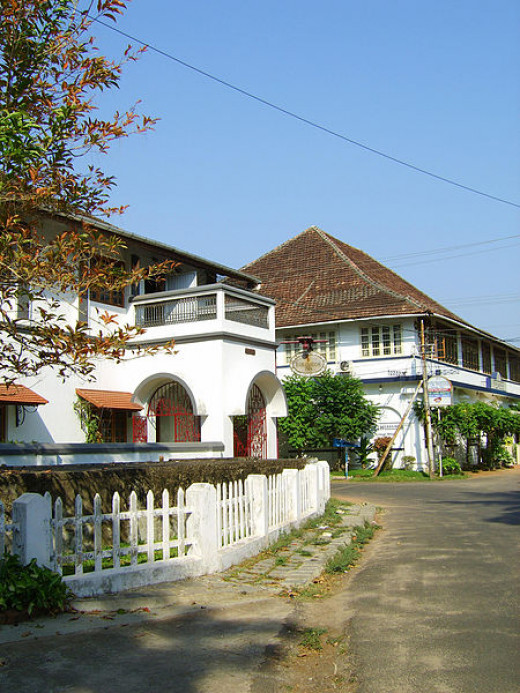 A Colonial building in Fort Kochi