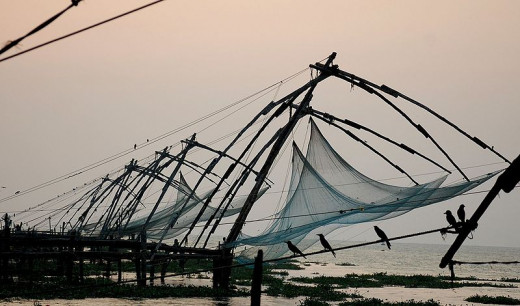 Chinese fishing net, Fort Kochi