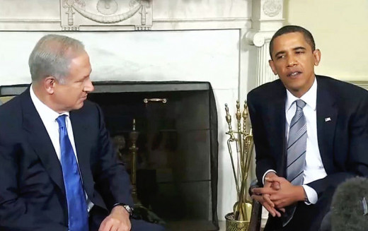 Obama and Netanyahu at the White House in 2009:  beginning of the deterioration of our relationship with Israel?