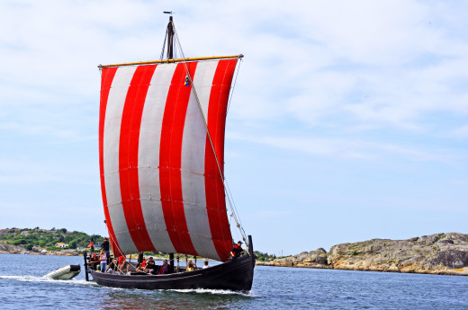 Frequent storms took ships off their intended course. Some were lost, others landed elsewhere - dead reckoning didn't always work - this is largely how the Norsemen found Greenland and Vinland