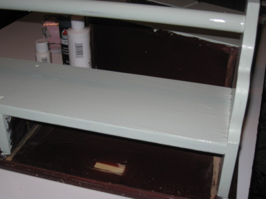 For the streaks and shades, after doing one or two good bottom base coats, rough semi dry brush the rest.