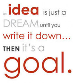 Everything starts with an idea.