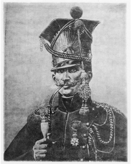 Nicolas Chauvin, a fierce French patriot and nationalist from the Napoleonic era.