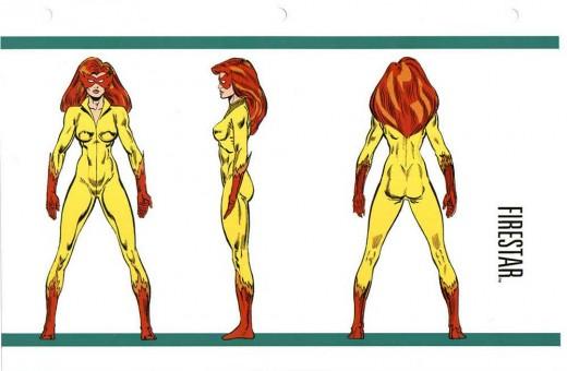 Firestar Costume History