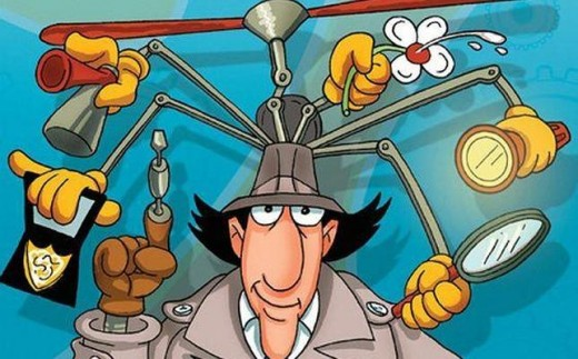 Equip your substitute like Inspector Gadget.