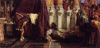 Ave, Caesar! Io, Saturnalia! (1880) by Lawrence Alma-Tadema