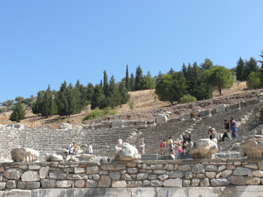 I took this picture in Ephesus Theather