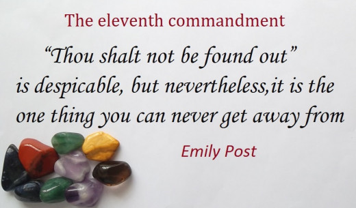 Emily Post born October 27 1872 to September 25 1960 was a famous author who wrote about culture manners and protocol