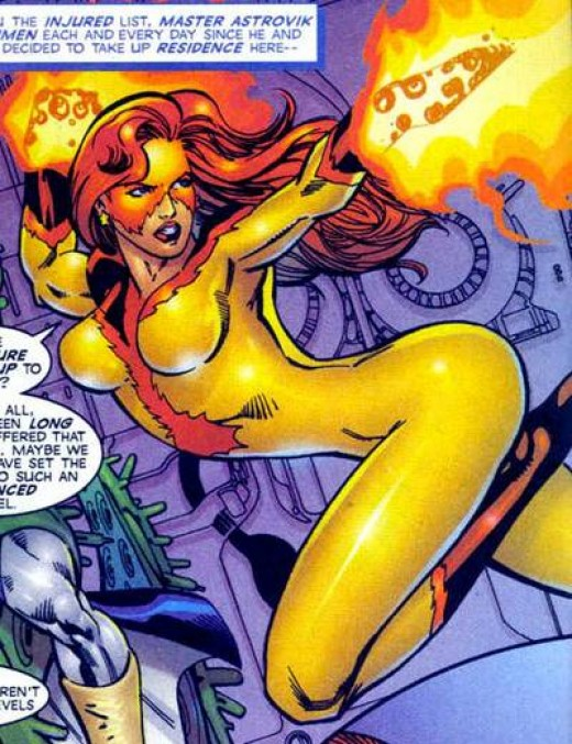 Firestar Updated Bodysuit Costume