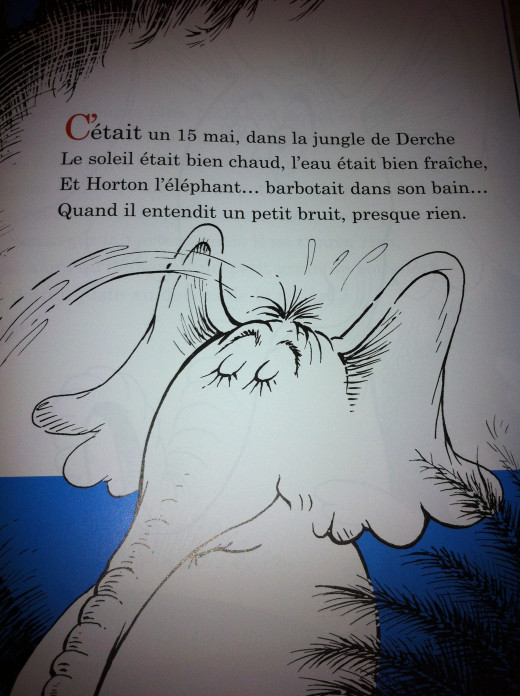 French version of Horton Hears a Who