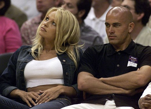 with Pamela Anderson