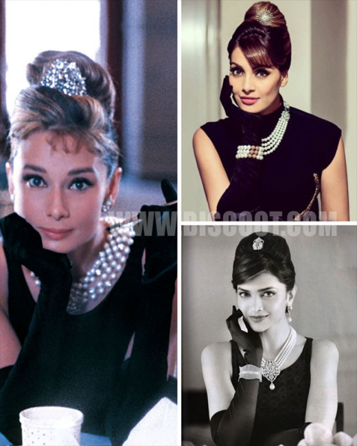 It seems like Bollywood actress love Audrey Hepburn's style. From Deepika Padukone to Kangana Ranaut, all have tried to replicate her iconic Breakfast at Tiffany's look.