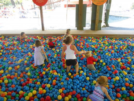 The ball pit