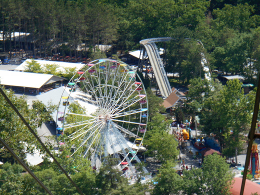 View from Scenic Skyride