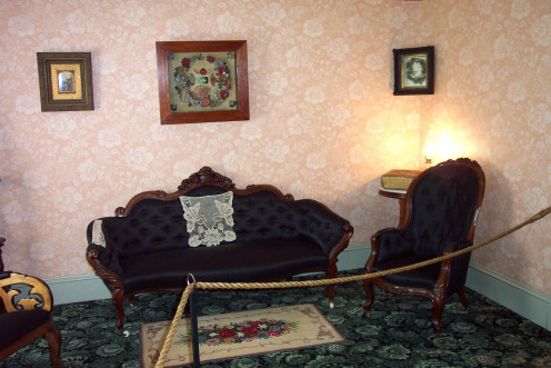 Image: Period Furniture in Green Gables Parlor