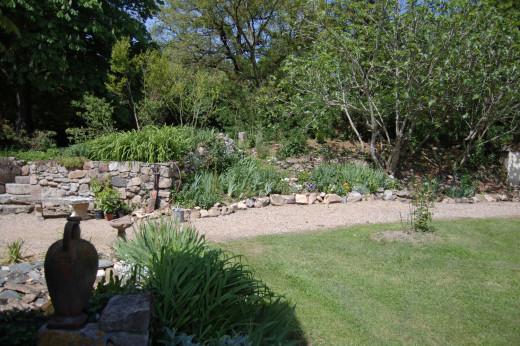 Garden rockery