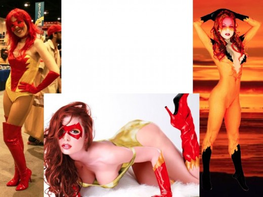Alternate Firestar Cosplay Costumes
