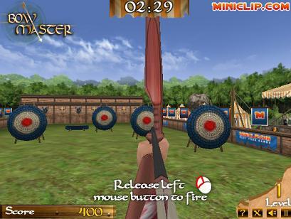 Bow Master gameplay screenshoot