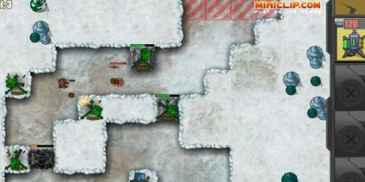Canyon Defense 2 gameplay screenshoot