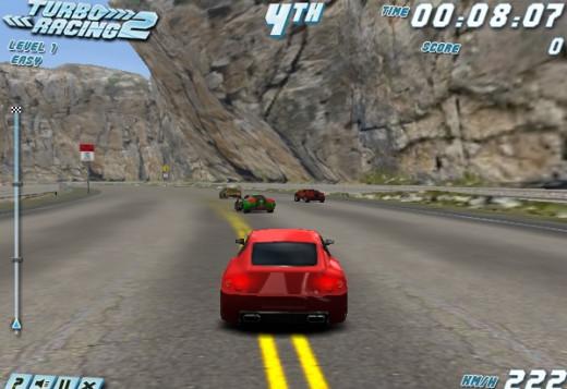 Turbo Racing 2 game screenshoot