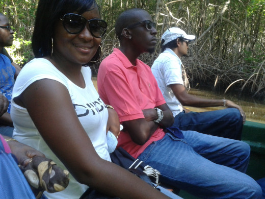 My Eldest sister and our brother-in-law sitting right next to her