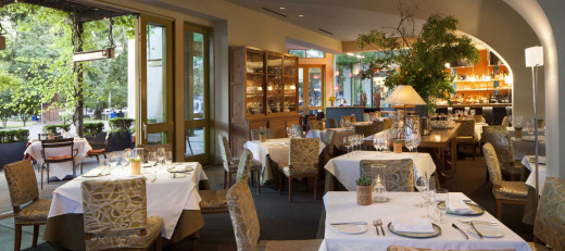 Charlie Palmer's Dry Creek Kitchen in Healdsburg.