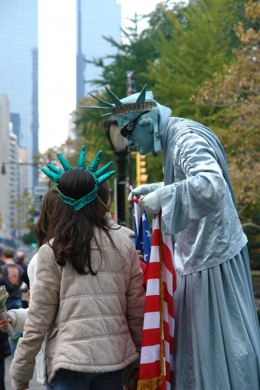 Girl with Liberty
