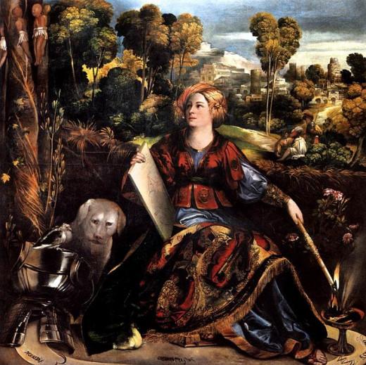 Dosso Dossi, Melissa (a. 1520), Rome Galleria Borghese