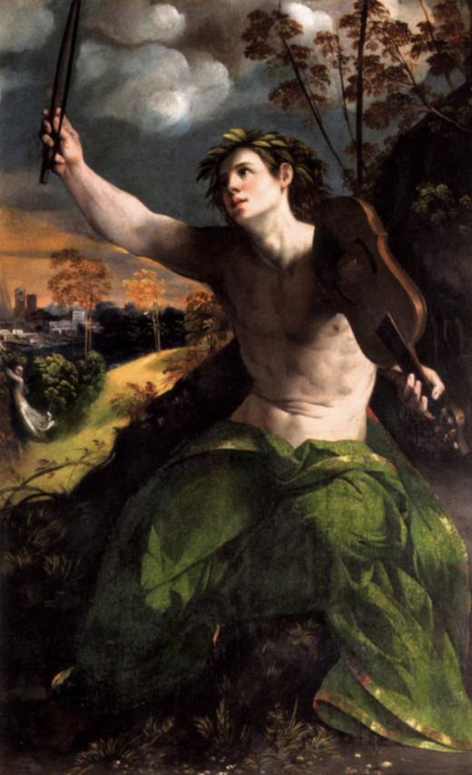 Dosso Dossi, Apollo (1524), Rome Galleria Borghese