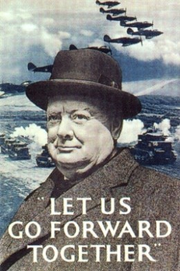 British war-time propaganda poster
