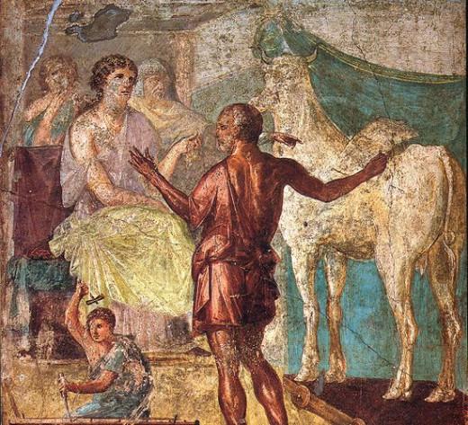 Pasipahe and the white bull