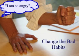 You need to replace a bad habit with a good habit to succeed and change!