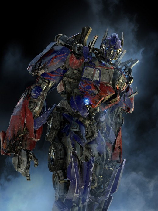 Battle-scarred Optimus Prime