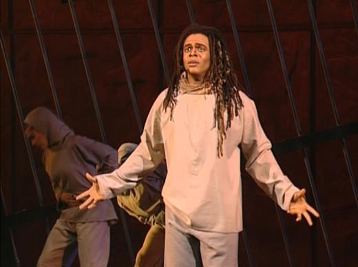 Luc Merville as Clopin