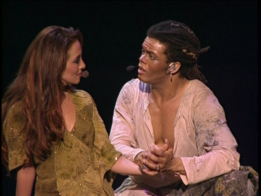 Helene Segara & Luc Merville as Clopin