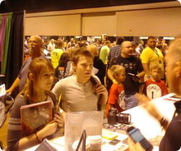 Crowds at the Scarefest Convention in Lexington, KY