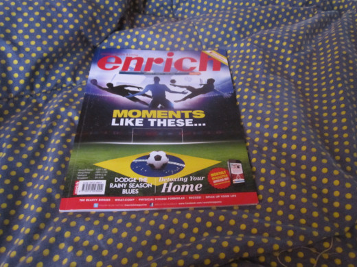 June issue, Enrich Magazine