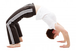 Bend over backwards without alcohol. Exercise without alcohol!