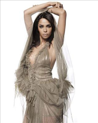 Mallika Sherawat's controversial Dirty Politics's poster has created a lot of buzz as she was draped in a tricolour, but now the image is being revised, with one of the three colours being wiped out.
