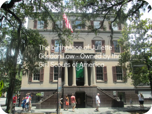 The birthplace of Juliette Gordon Low