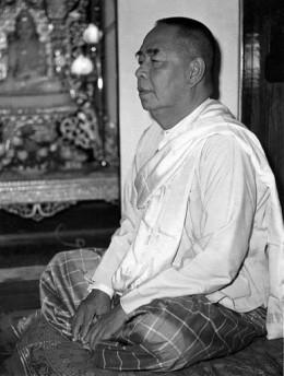 U Ba Khin - The renowned Vipassana Meditation Teacher