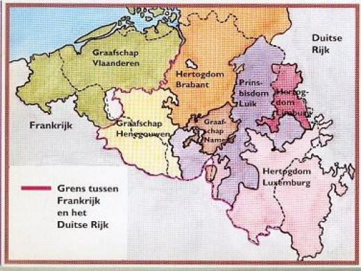 Flanders and her neighbours - Flanders and Frisia (Flanderen, Friesland) were prone to raiding as much as, if not more than further south in Paris and the rivers that emptied into the North Sea, English Channel and Atlantic