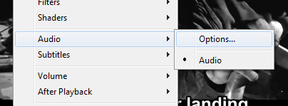 This menu will appear after pressing right click.