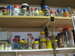 Rows & Rows of Jars in the Garage