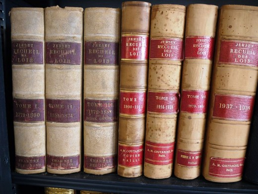 Law books cover both statutory and common law including negligence