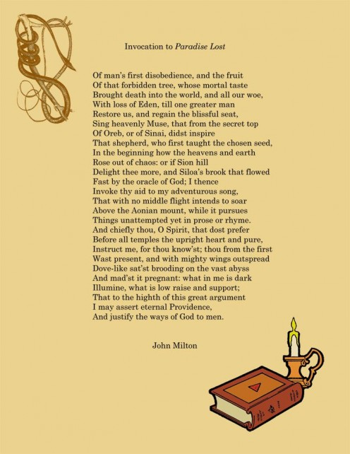 "Milton's Invocation in ""Paradise Lost"""