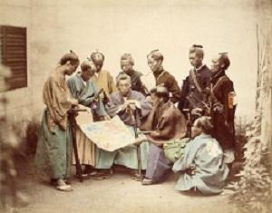 Samurai during Boshin War period (1867)